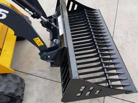 Rock bucket small loaders - picture0' - Click to enlarge