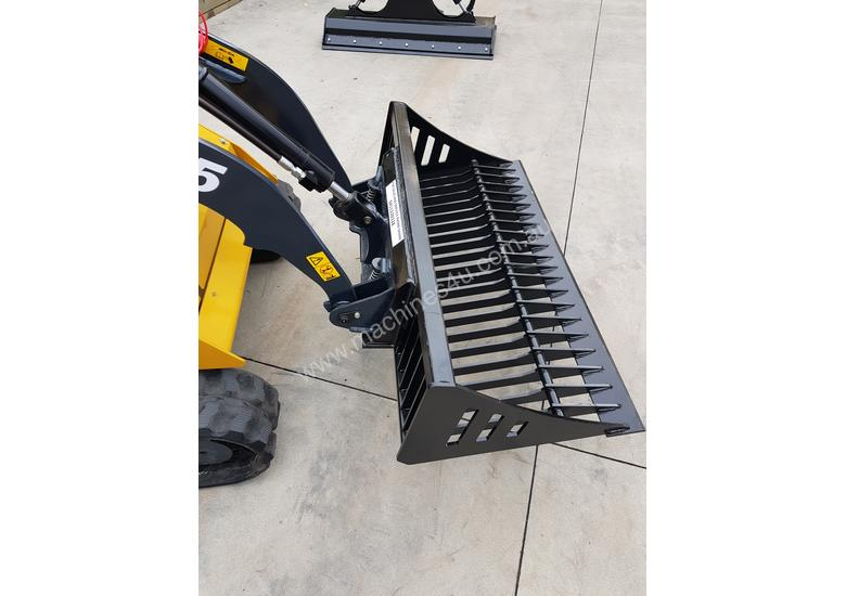 Rock bucket small loaders