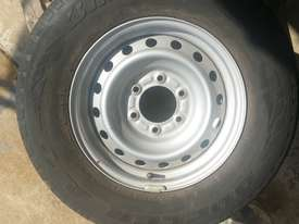 Isuzu Dmax 16 inch factory rims and tyres - picture0' - Click to enlarge