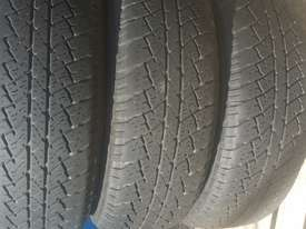 Isuzu Dmax 16 inch factory rims and tyres - picture1' - Click to enlarge