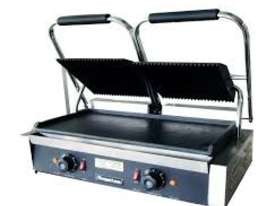 Royston Electric Contact Grill With Groved Top/Fla - picture2' - Click to enlarge