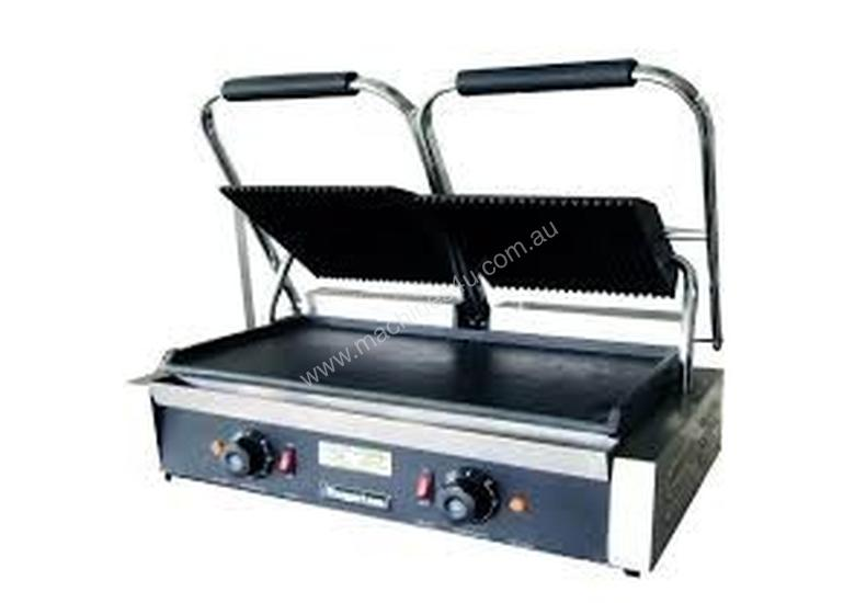Royston Electric Contact Grill With Groved Top/Fla