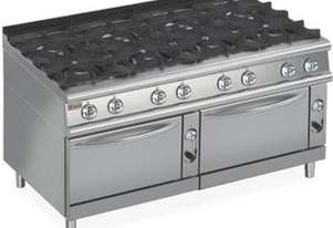 Baron 7PCF/G1605 Eight Burner Gas Cook Top with Two Gas Ovens
