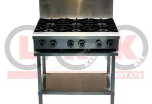 LKKOB6D 6 Gas Open Burner Cooktop