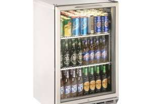 Williams BC1SS-80 Bottle Cooler Glass 1 Door Refrigerator