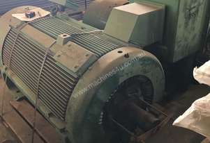 335 kw 450 hp 8 pole 3300 volt AC Electric Motor