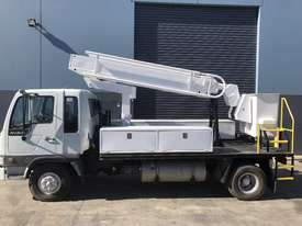 Elevated work platform truck  - picture0' - Click to enlarge
