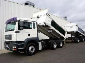 2007 MAN TGA 26.430 (6x4) Bisalloy Tipper & 48Ton Superdog Combo - picture0' - Click to enlarge