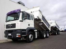 2007 MAN TGA 26.430 (6x4) Bisalloy Tipper & 48Ton Superdog Combo - picture3' - Click to enlarge
