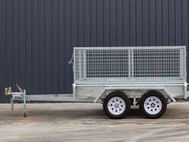 8ft x 5ft Tandem Axle Box Trailer - picture0' - Click to enlarge