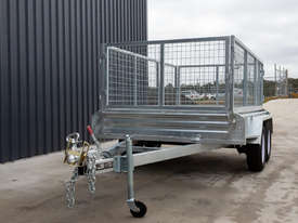 8ft x 5ft Tandem Axle Box Trailer - picture3' - Click to enlarge