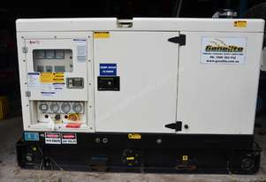 Silenced Diesel Generator - excellent condition 15 kVA 3-Phase (very low hrs)