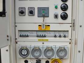 Silenced Diesel Generator - excellent condition 15 kVA 3-Phase (very low hrs) - picture0' - Click to enlarge