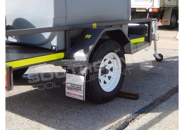 Diesel Fuel Trailer 1200L Mine Spec - 12V PIUSI TFPOLYDT