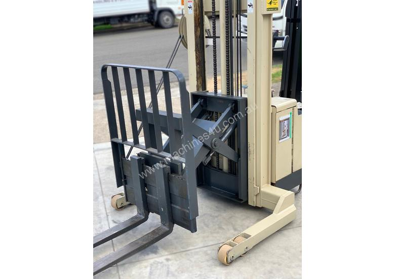 Crown 1.2T Walkie Reach Forklift with 3.8m lift FOR SALE