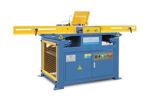 Pallet notching of forklift cut-outs .Fast.Efficient.Affordable
