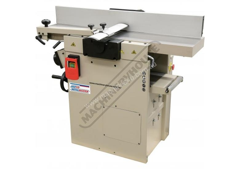 PT-254S Planer & Thicknesser Combination - Spiral Cutter Head 254mm Wide Planer Capacity 254 x 190mm