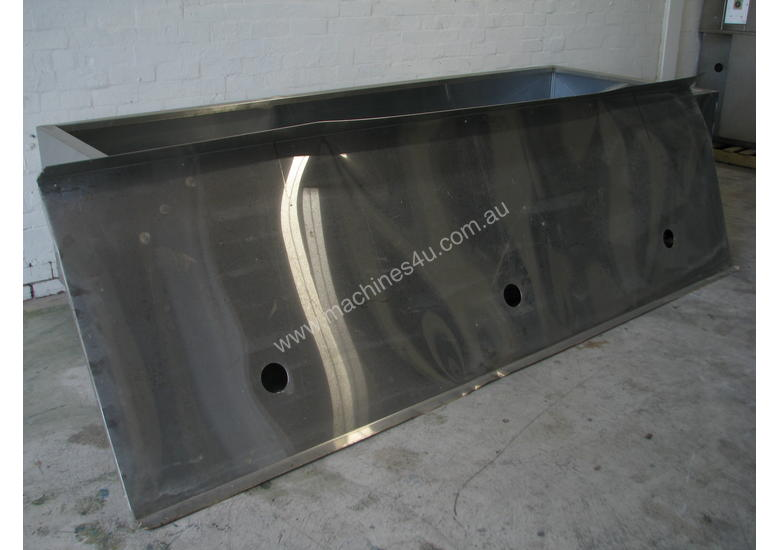 Large Commercial Stainless Steel Canopy Rangehood - 3.3m long