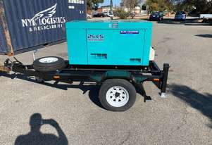 DENYO 25KVA 3 Phase - DCA-25ESK -Trailer Mounted