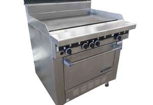 GARLAND 900MM NAT GAS GRIDDLE HOT PLATE WITH OVEN
