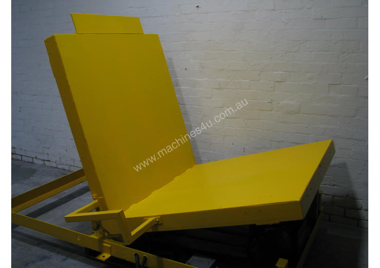 Large Hydraulic 90 Degree Pallet Roll Tipper Inverter