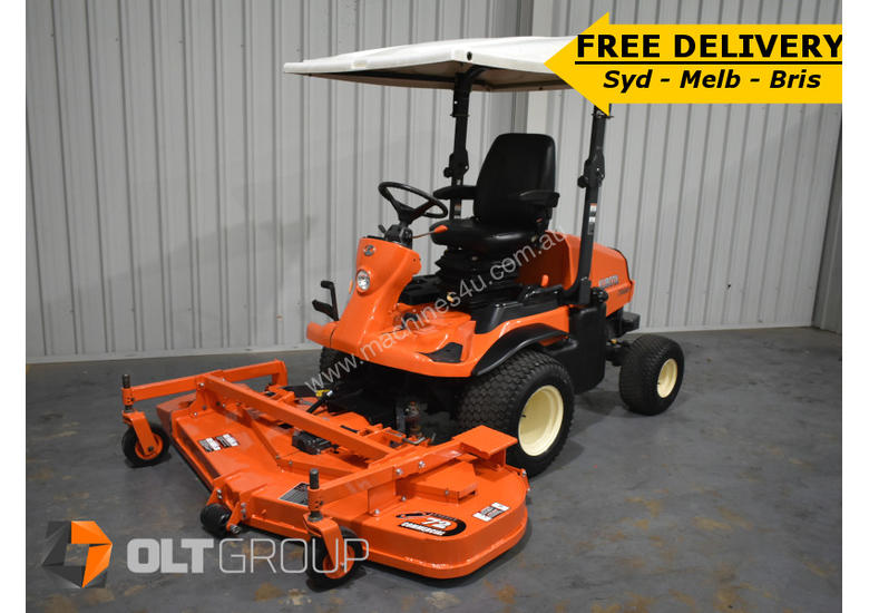 Kubota F3680 Out Front Mower 36hp Diesel Engine 72 Inch Side Discharge