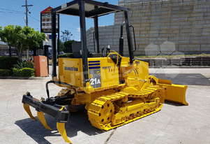 Komatsu D21A-8 with Rippers 2031 hours DOZETC