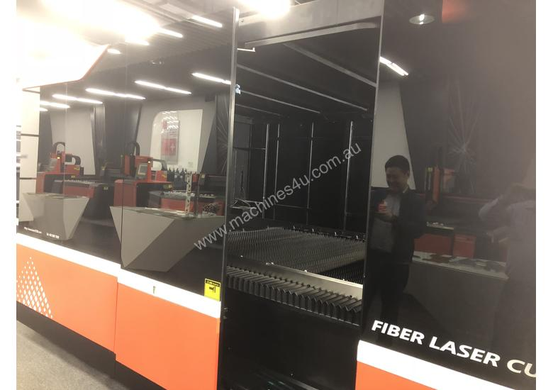**MEMBER OF BYSTRONIC** DNE D-Fast 4020 3kW Fiber Laser Cutting Machine - Extended Tray 4m