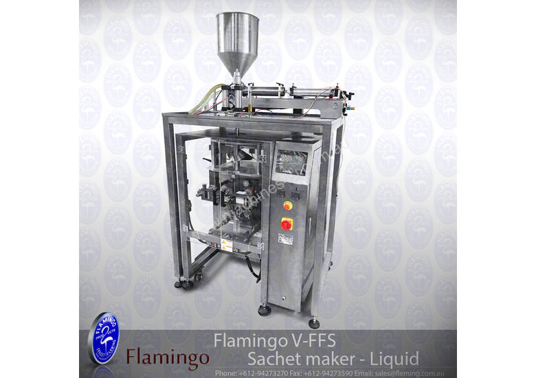 New 2019 flamingo Flamingo V-FFS Sachet maker - Liquid EFFFS