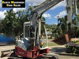 2007 Takeuchi TB153FR, Off set boom, attachments.  MS560 - picture0' - Click to enlarge