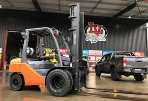 Toyota 3 Tonne Forklift with Dual Wheels #StableLyf