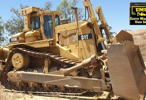 1992 CAT D10N Dozer, Ripper, 90% walking gear.  MS589