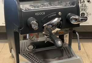 RANCILIO EPOCA 1 GROUP SEMI AUTOMATIC GREY ESPRESSO COFFEE MACHINE