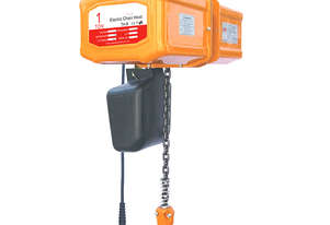 Toho Electric Chain Hoists Single Phase 1 Tonne 3M Lift