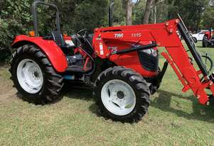 Brand New TYM T75 4 in 1 loader