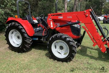Brand   TYM T75 4 in 1 loader