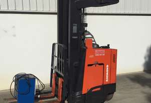 Raymond 1.5 Ton Electric Reach Truck in good condition