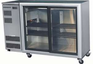 Skope BB380 2 Glass Sliding Door Fridge