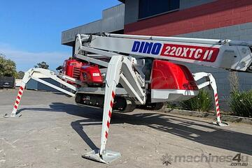 Demo unit - 1ONLY! - Dino 220XTC II Spider Boom Lift