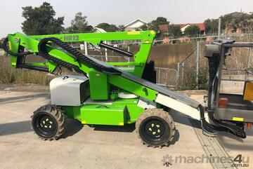 Nifty HR12 34ft Diesel Electric Hybrid Knuckle Boom Lift