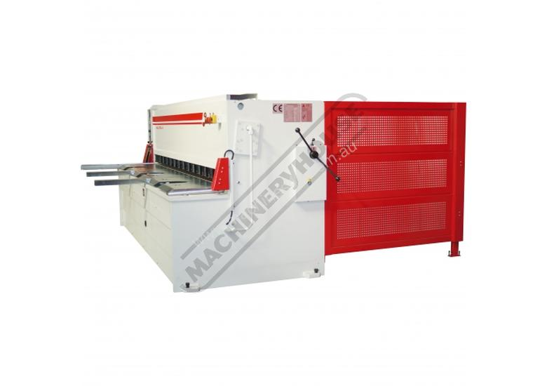 HGL-3106 Hydraulic NC Guillotine 3060 x 6mm Mild Steel Shearing Capacity 1-Axis NC Cybelec 6W Touch