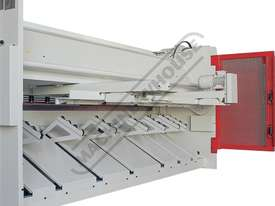 HGL-3106 Hydraulic NC Guillotine 3060 x 6mm Mild Steel Shearing Capacity 1-Axis NC Cybelec 6W Touch  - picture5' - Click to enlarge