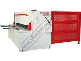 HGL-3106 Hydraulic NC Guillotine 3060 x 6mm Mild Steel Shearing Capacity 1-Axis NC Cybelec 6W Touch  - picture3' - Click to enlarge