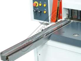 HGL-3106 Hydraulic NC Guillotine 3060 x 6mm Mild Steel Shearing Capacity 1-Axis NC Cybelec 6W Touch  - picture11' - Click to enlarge