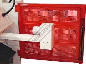 HGL-3106 Hydraulic NC Guillotine 3060 x 6mm Mild Steel Shearing Capacity 1-Axis NC Cybelec 6W Touch  - picture14' - Click to enlarge