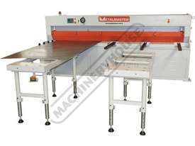 HGL-3106 Hydraulic NC Guillotine 3060 x 6mm Mild Steel Shearing Capacity 1-Axis NC Cybelec 6W Touch  - picture17' - Click to enlarge
