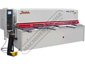 HGL-3106 Hydraulic NC Guillotine 3060 x 6mm Mild Steel Shearing Capacity 1-Axis NC Cybelec Cybtouch  - picture0' - Click to enlarge