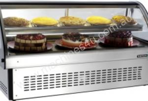 Anvil DSM0440 Showcase Curved Counter-Top Display(