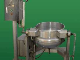 KAJIWARA Steam Jacketed cooker / kettle (hydraulic