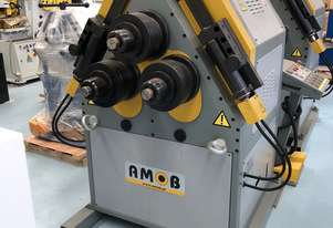 AMOB SECTION ROLLS | HYDRAULIC | DRO | PINCH TYPE  | 80MM SHAFT | HEAVY DUTY | EUROPEAN